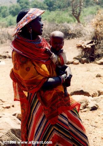 Samburu Native Village, Kenya