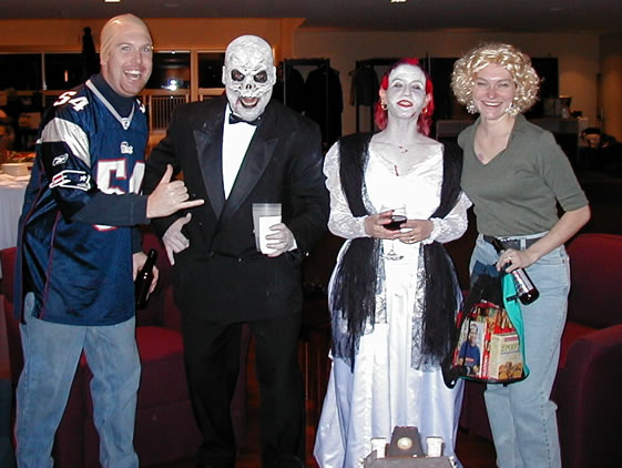 Fearsome Foursome  sc 1 st  The World of AF Grant & Halloween Party - 2002