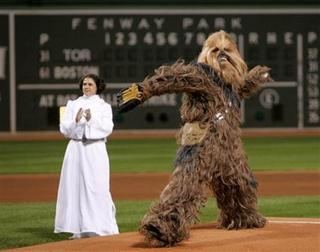 Chewie at Fenway