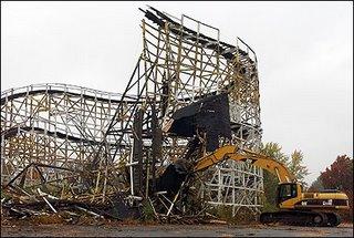 Whalom Park Demolition